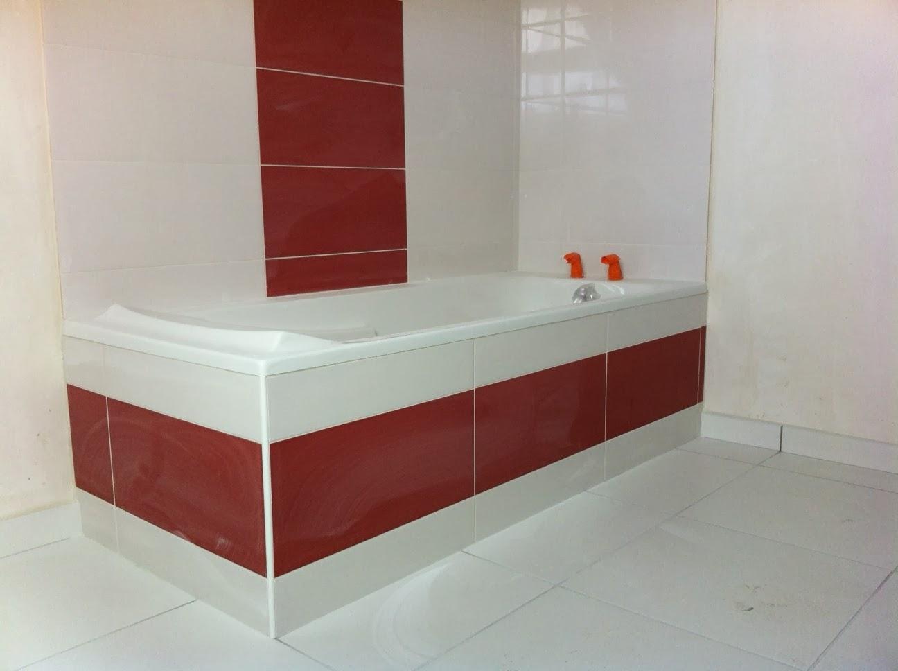 Notre future maison à Plougonvelin: La salle de bain de l'étage