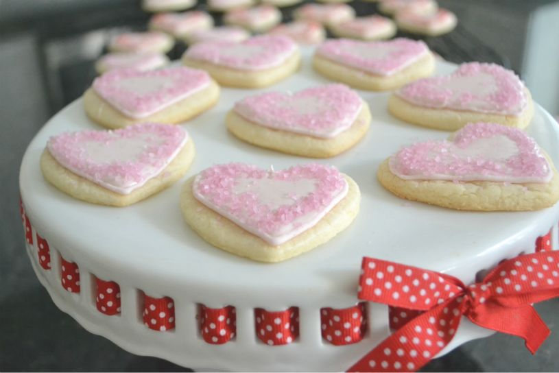 Lemon Kissed Cream Cheese Sugar Cookies With Royal Icing