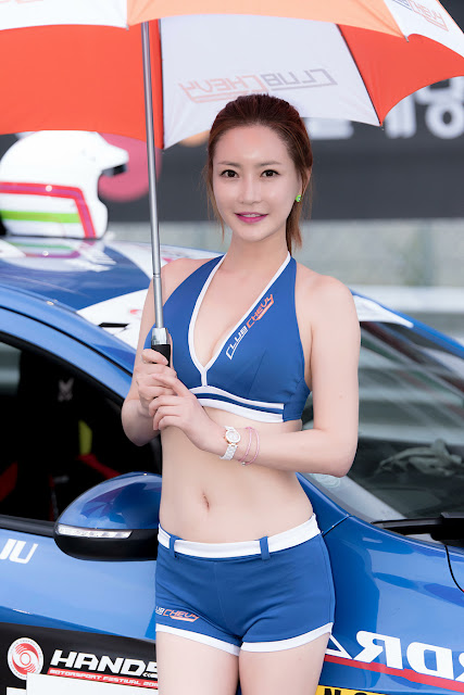 3 Min Soo Ah - CJ Super Race R5 - very cute asian girl-girlcute4u.blogspot.com
