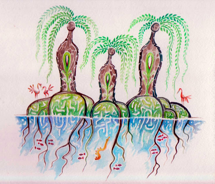 Mangrove People - The Walking Trees