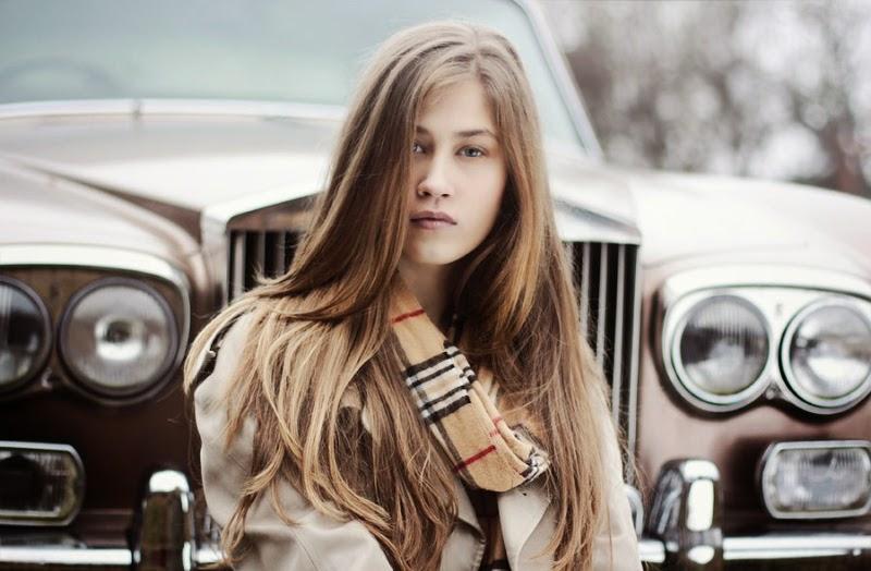 blog modowy, burberry scarf