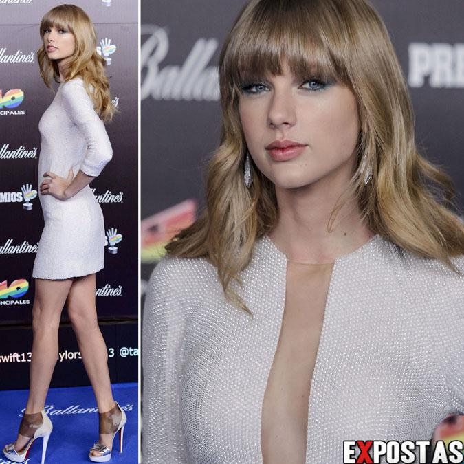 Taylor Swift: 40 Principales Awards 2012 em Madrid - 24 de Janeiro de 2013