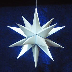 3p n stars over bethlehem for How to make a big paper star