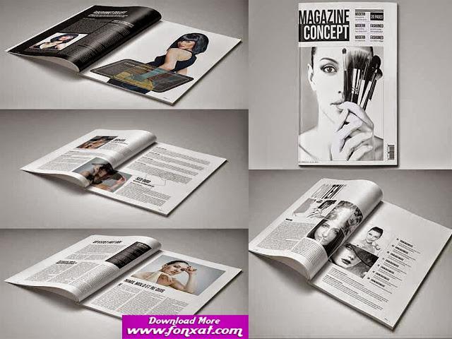 magazine design تصميمات مجلات
