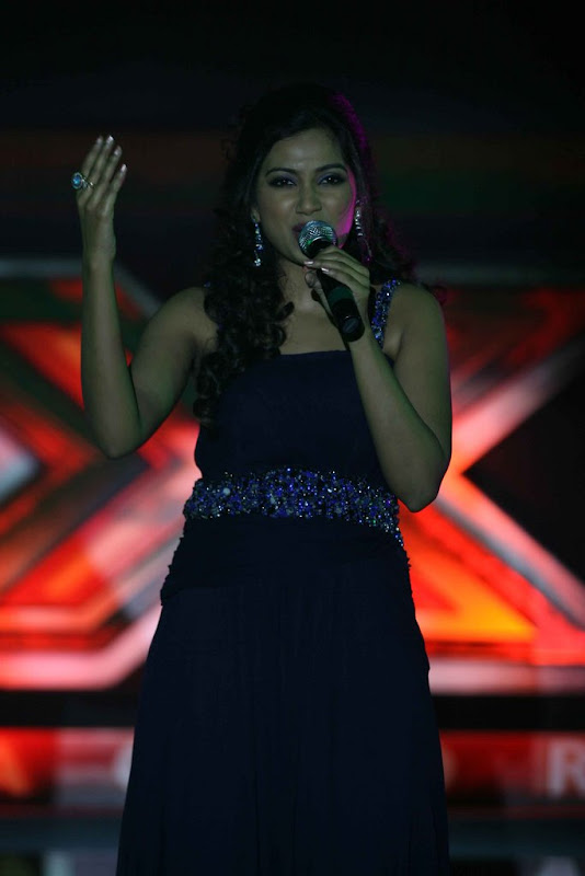 Shreya Ghoshal Hot  Sony TV Music Show X Factor Launch Party Stills wallpapers