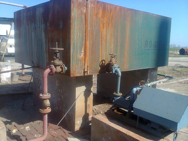 R.O water tank