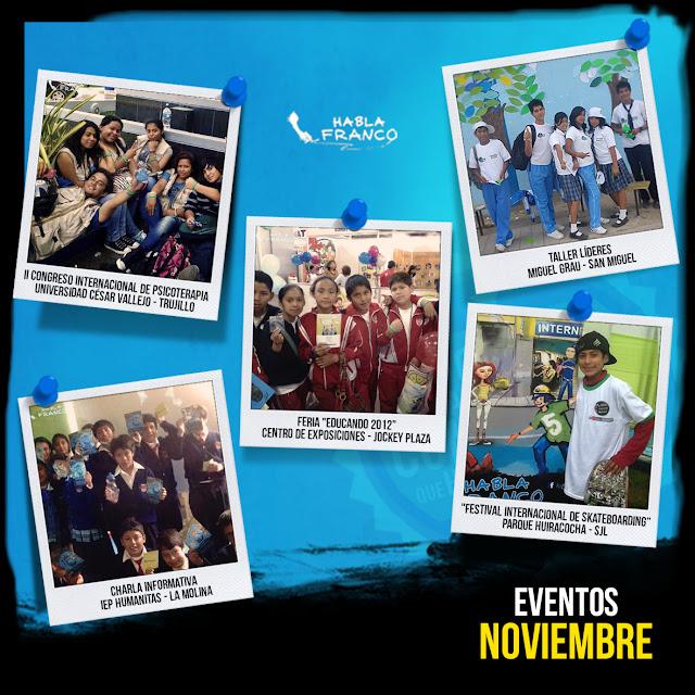 eventos de noviembre