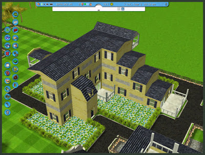 New Age House Roller coaster tycoon 3 structure