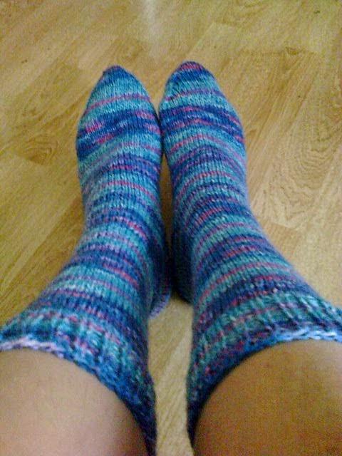 knitting socks - sokken breien
