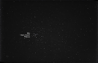 M7 open cluster