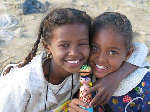 Meninas da Núbia