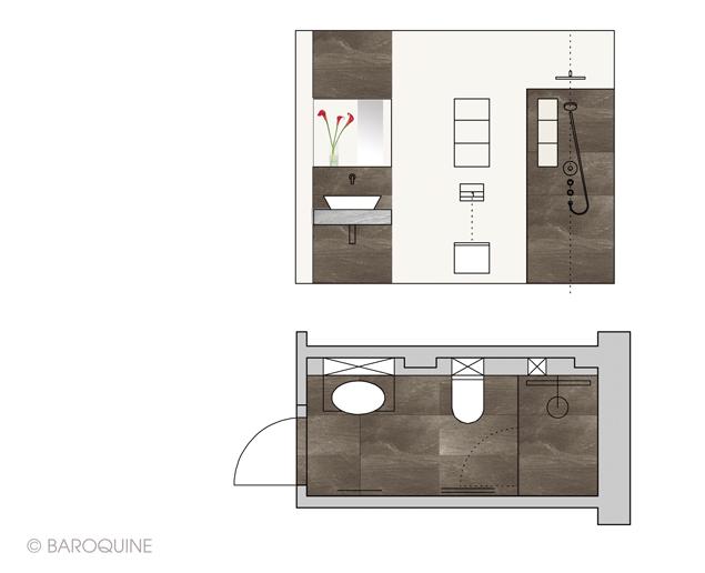 2 qm bad badezimmer 2 qm badezimmer 2 5 qm badezimmer 2 for Badezimmer ideen 5qm