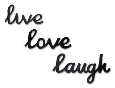 Live Love Laugh Picture Frame on The Worthness Of Our Life Live Love Laugh If We Are In Love We Will