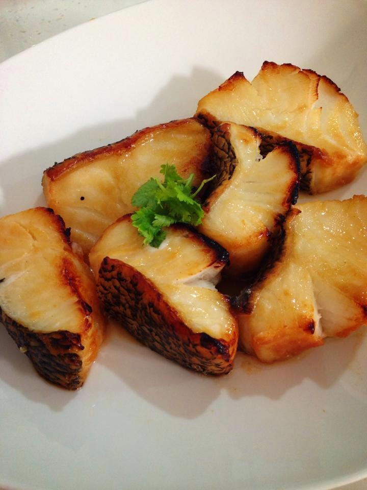 Miso cod fish by carina khong for Miso sauce for fish