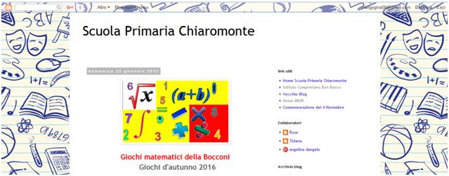 Scuola Primaria Chiaromonte