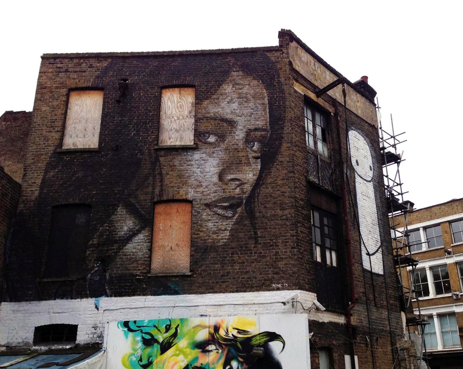 east london street art map rome - photo#1