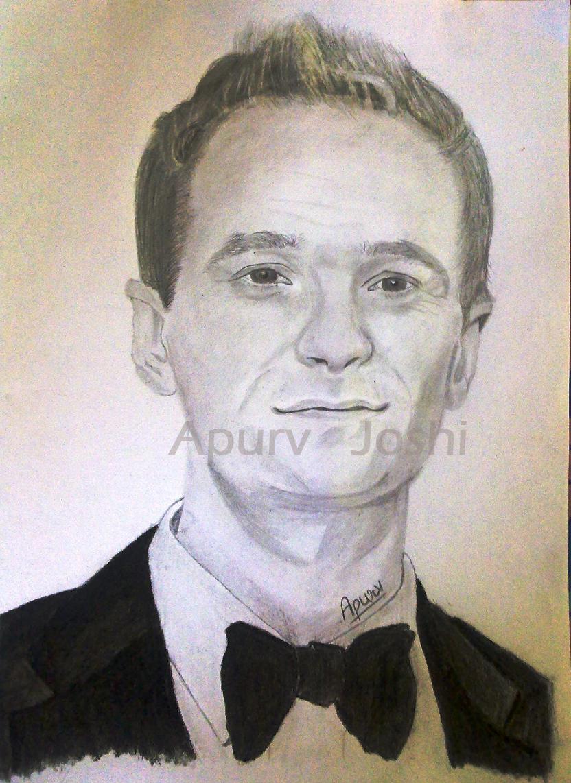 My Sketch World Neil Patrick Harris Barney Stinson