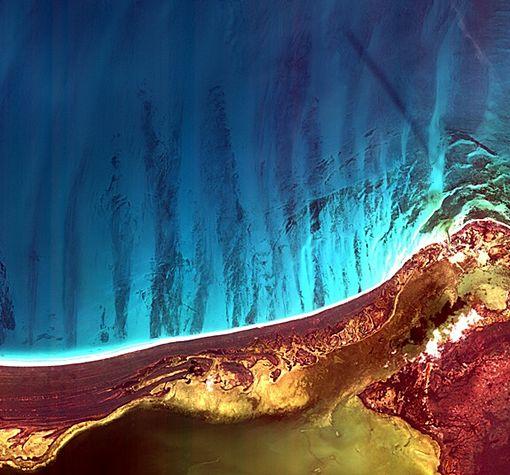 Satelit Kompsat-2 Korea Memotret Lubang Hitam atau black hole di Meksiko
