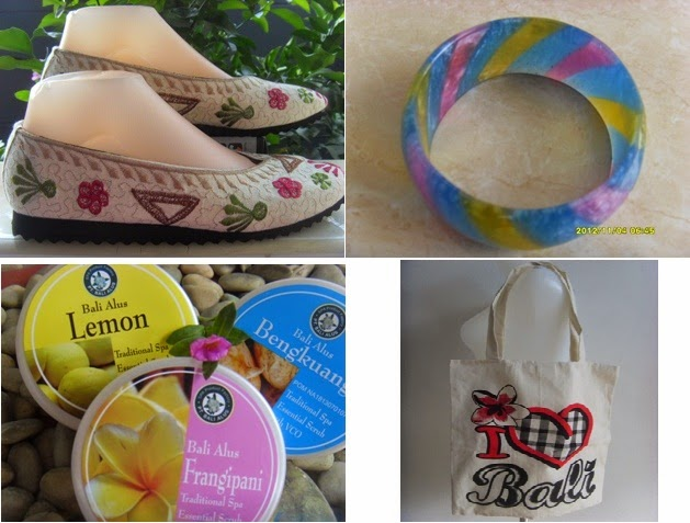 Tas ,Spa , Accesories , Sandal , Sepatu , souvenir