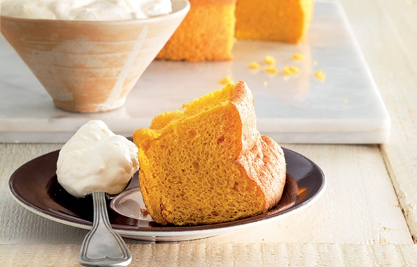 Chiffon Cake Alla Carota