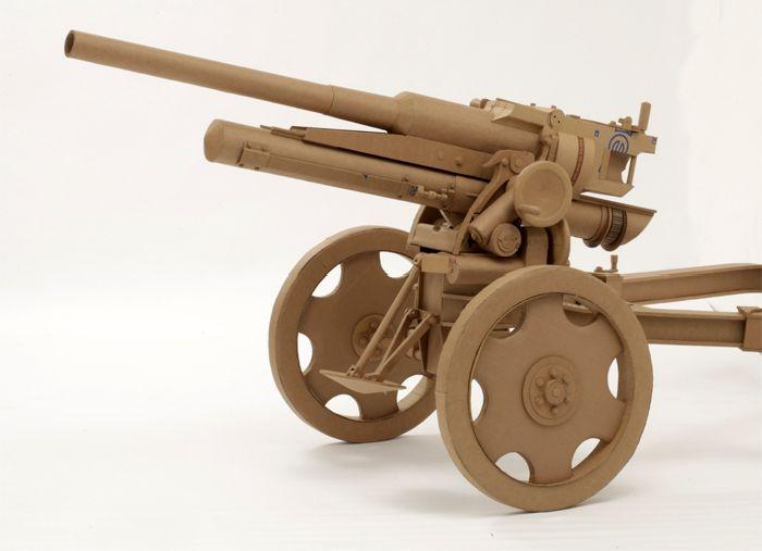 Пушки своими руками из картона