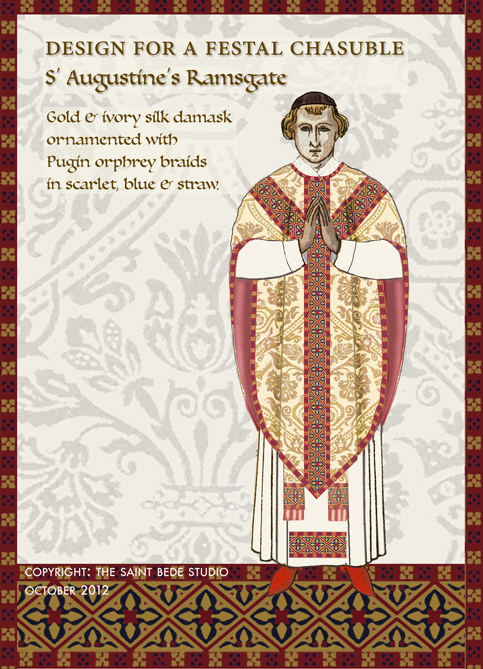 The saint bede studio blog 2012 in conjunction with the friends of saint augustine the saint bede studio is organising a special appeal to provide over a period of years new vestments m4hsunfo