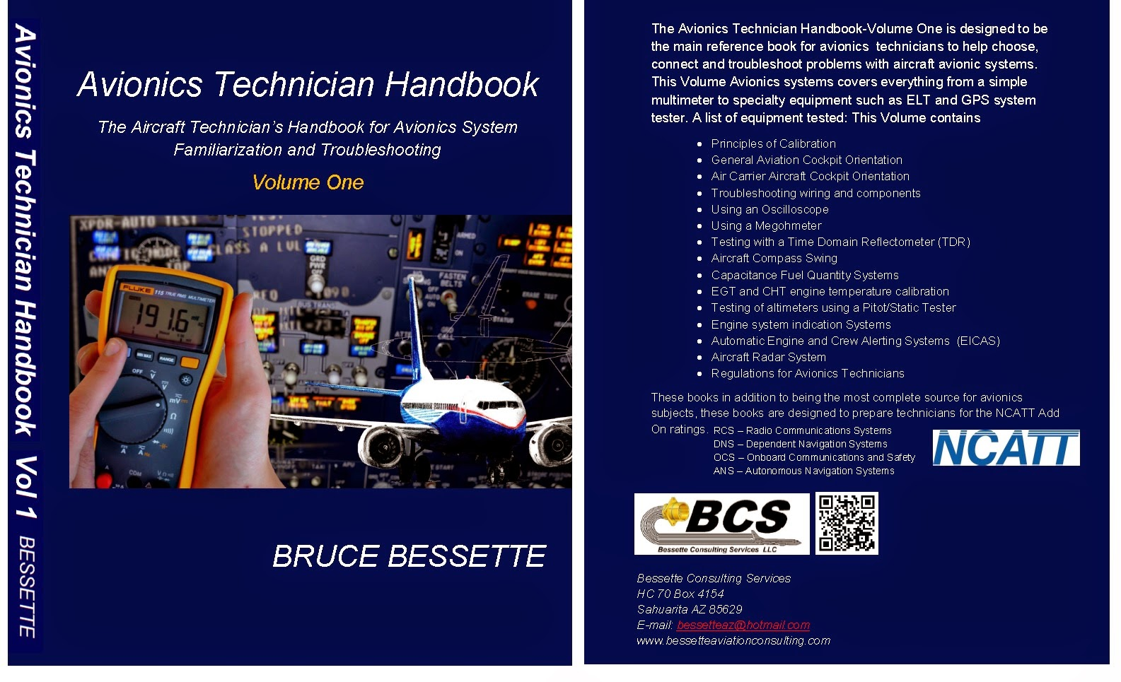 Bessette Consulting Services Aircraft Wiring Books After 3 Years And Hundreds Of Edits Rewrites Reviews We Have Finally Put Out Part 1 A 2 Volume Avionics Every Pilot Mechanic Technician