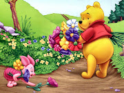 Pooh and Piglet Summertime Cartoon Desktop Background Gallery HD 2012 Images