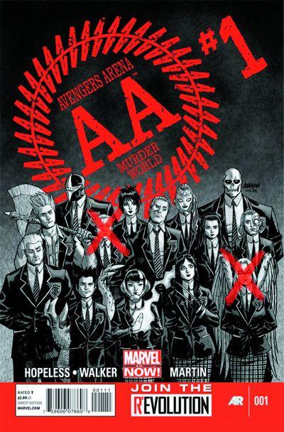 Marvel Avengers Arena#1