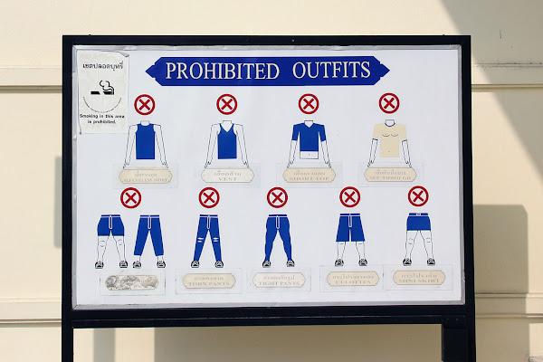 Como vestir en Tailandia