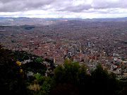 Bogotá-Colombia view from monserrate bogota colombia