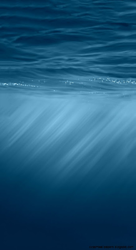 Under Water iOS 8 Official iPhone 5s Wallpaper Download  iPhone