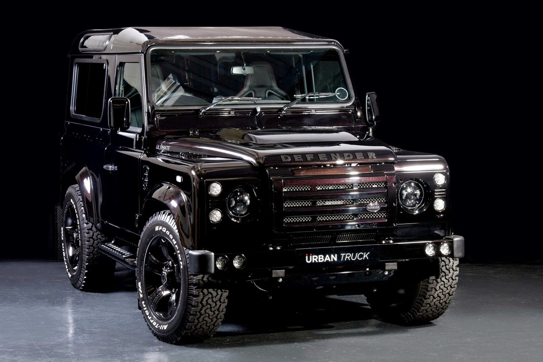Land Rover Defender Ultimate Edition Grease N Gas