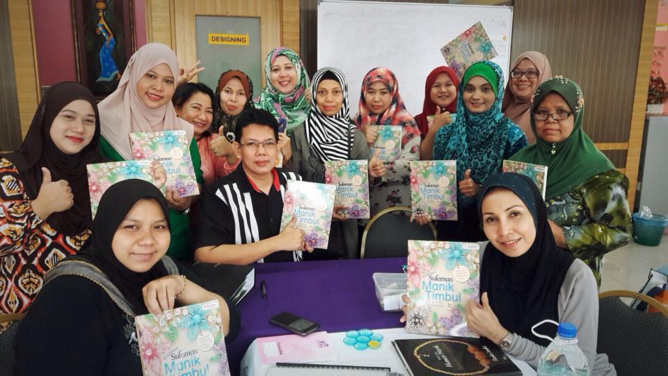 Bengkel Sulaman Manik Timbul 3D di Afdi Subang Perdana 2015