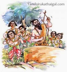 துணி துவைத்த சீடர்கள் - பரமார்த்த குரு கதைகள் (Paramartha Guru Stories)