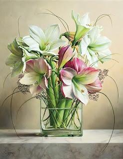 Hiperrealistas Cuadros de Flores
