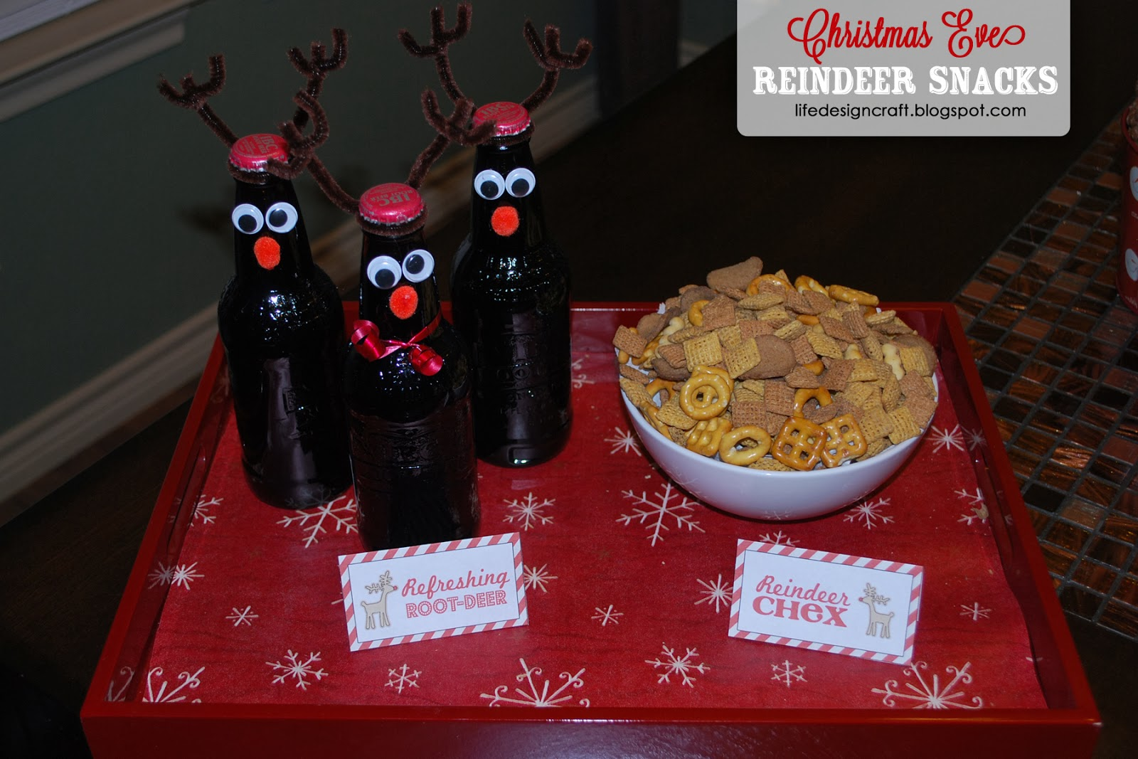 Life design and the pursuit of craftiness reindeer games for Christmas eve food ideas uk