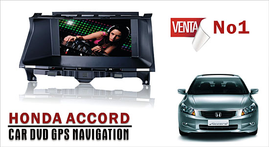 HONDA ACCORD Car DVD GPS Navigation