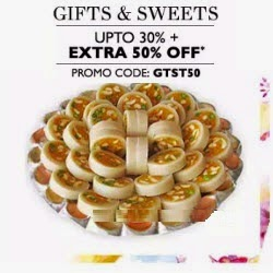Buy Gifts & Sweets upto 30% off + Rs. 500 cashback on Rs. 999 at Paytm : BuyToEarn