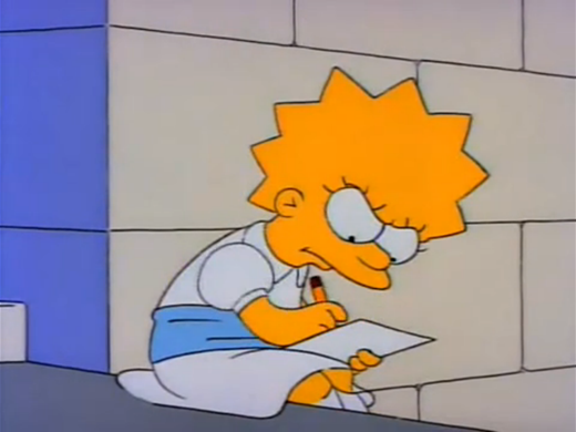 the simpsons essay Mr lisa goes to washington is the second episode of the simpsons' third  season it originally aired on the fox network in the united states on september  26, 1991 in the episode, lisa enters in an essay contest to write an essay about .