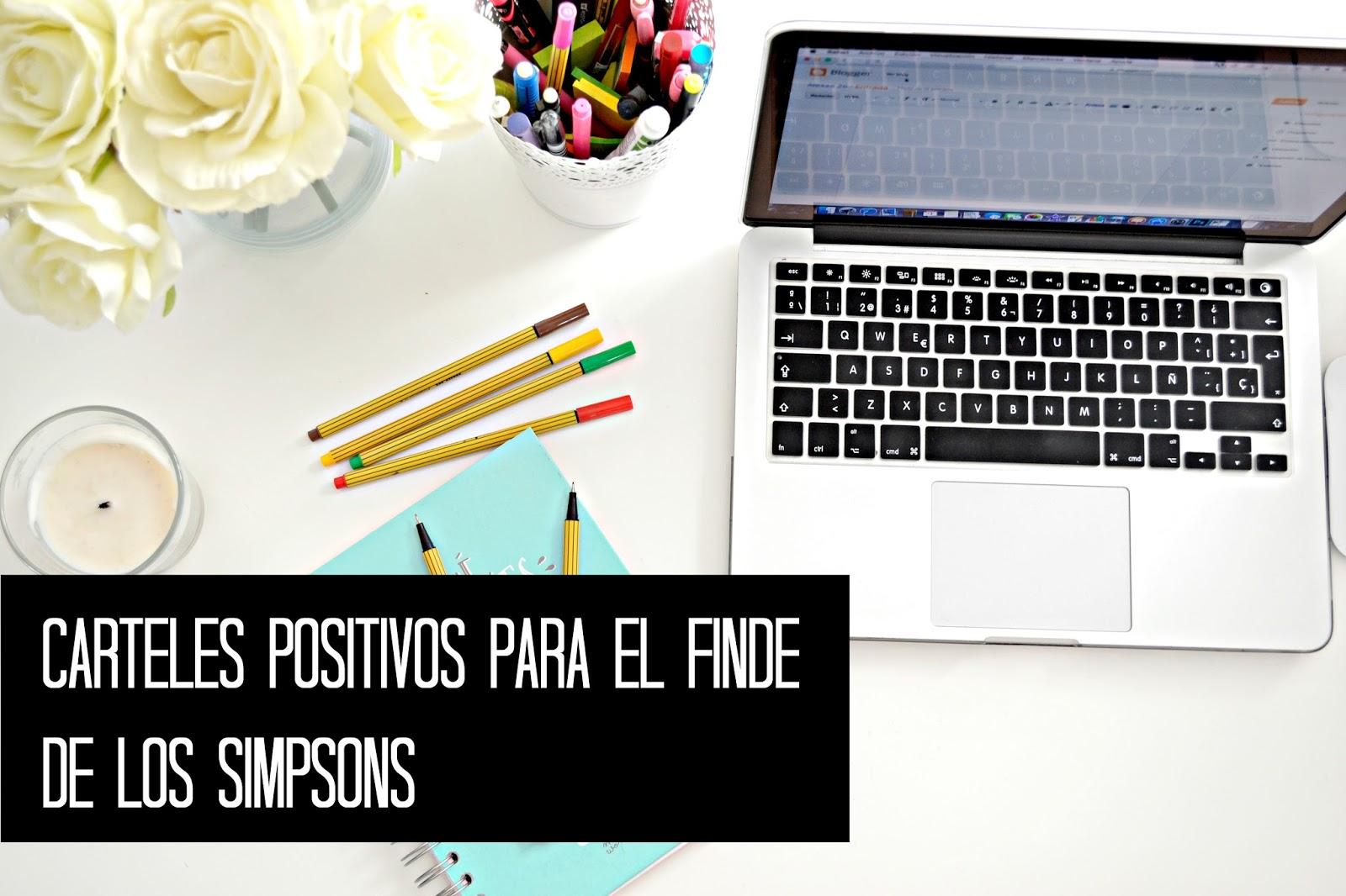 carteles-positivos-simpsons-para-el-finde
