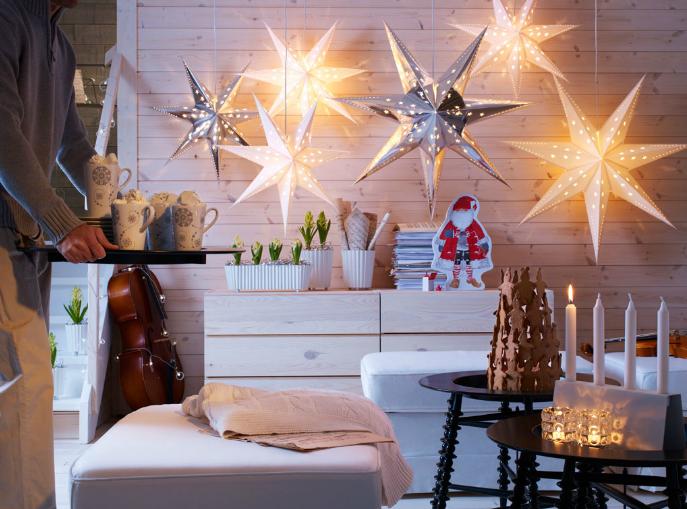Decoracion Exterior Navidad Ikea ~ El anillo de Nun Decoraci?n de Navidad en Ikea