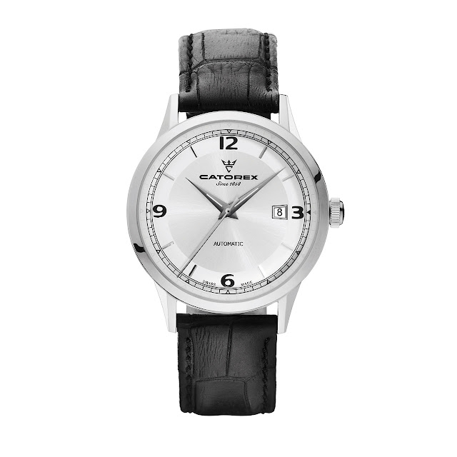 Catorex C'Vintage Watch silver dial
