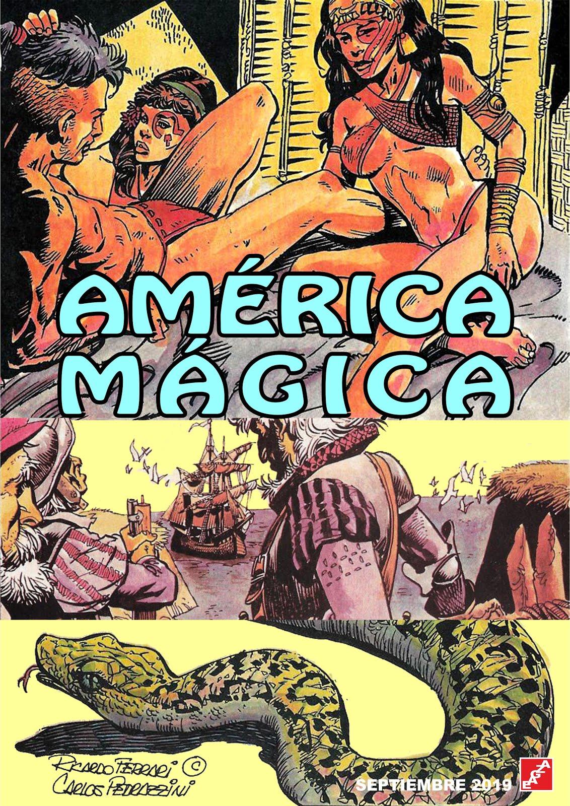 Añadida la historieta: América Mágica - R. Ferrari - C. Pedrazzini - EAGZA