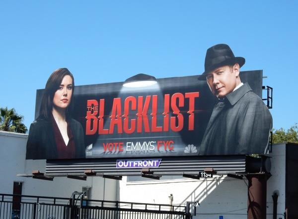 Blacklist 2015 Emmy special billboard