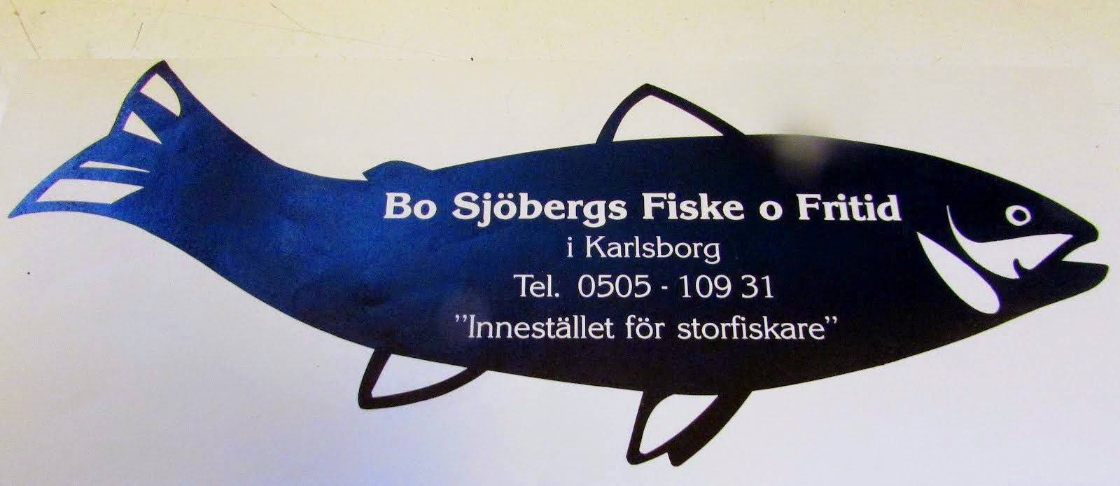 "Bo Sjöberg ""Mr Fish"""