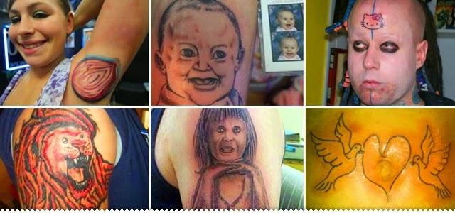 Hipernovas: 66 Exemplos de Como Não se Deve Fazer Uma tatuagem (66 Imagens)