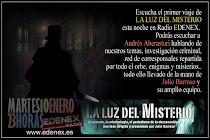 La Luz del Misterio ya en EDENEX-LA RADIO DEL MISTERIO