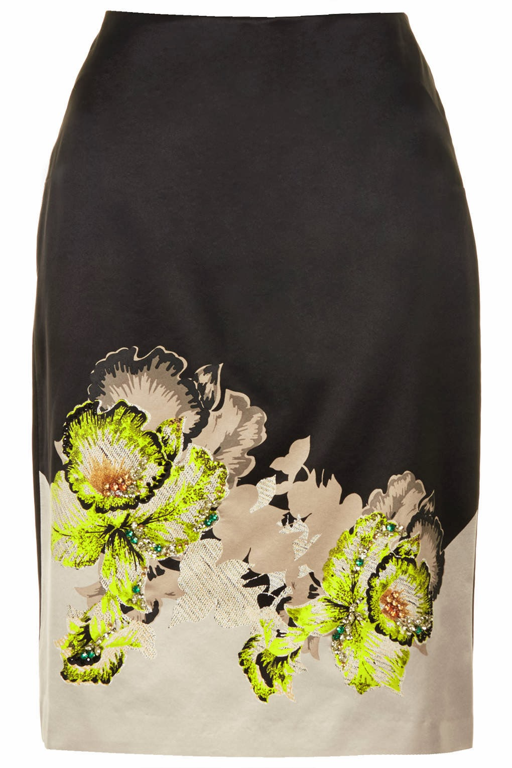 topshop pencil skirt