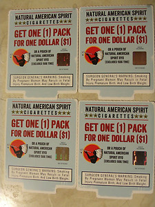 SAMPLE American spirit cigarette coupons